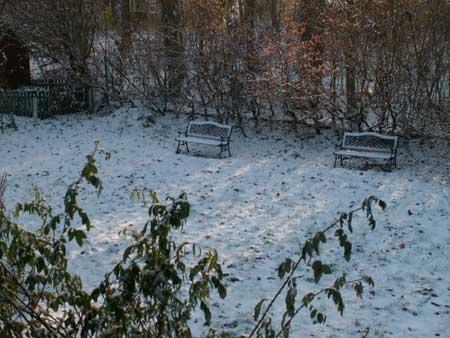 snö och åter snö